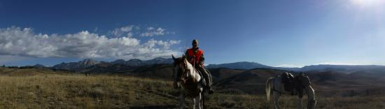 Bondurant, WY: Horseback in and out all week!