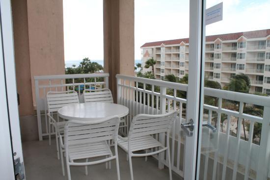 Larger villa king balcny compass tower picture of - Marriott aruba surf club 2 bedroom villa ...