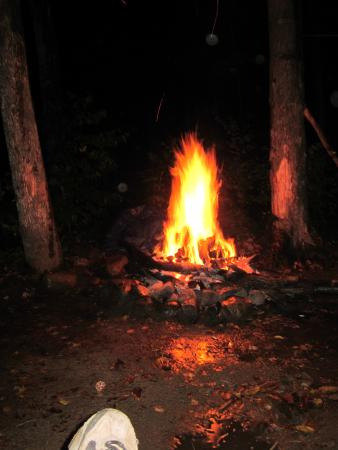Crawford Notch General Store and Campground: Night Fires