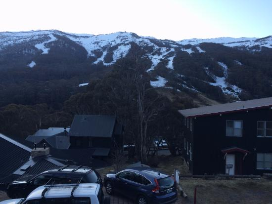 Alpenhorn Lodge: View from hotel restaurant