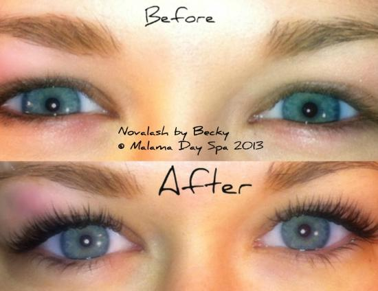 Malama Day Spa: Lash Extensions by Becky