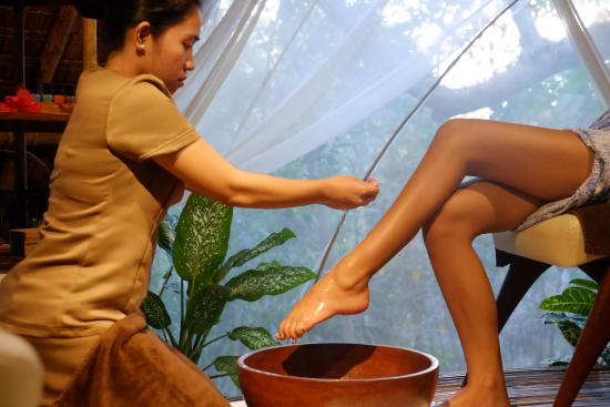Mandala Day Spa: Pedicure at our cocoon