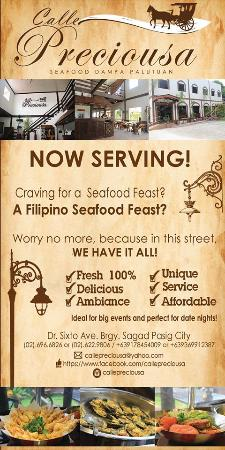 -Calle Preciousa Seafood Dampa Palutuan