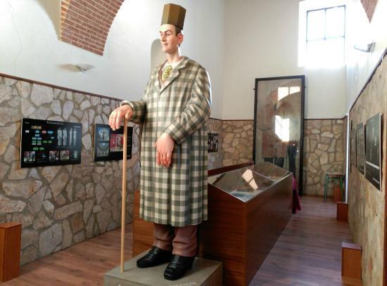 Puebla de Alcocer, Espagne : Ninot del Gigante Extremeño