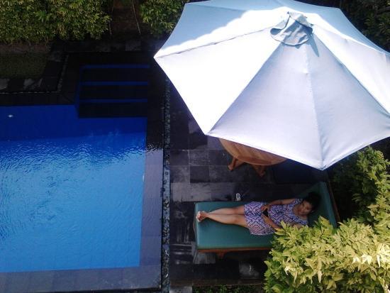 Villa Agung Khalia: Honeymoon Suite Pool
