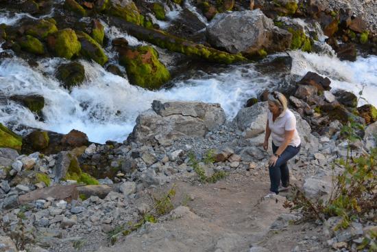 Afton, WY: Fuld fart på vandet