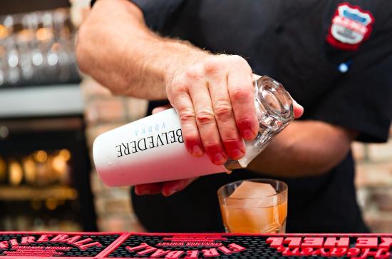 Seacrest Beach, FL: SOUTHERN FUZE cocktails