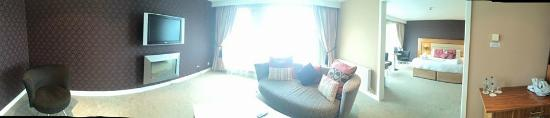 Athlone Springs Hotel: Panoramic View of Room