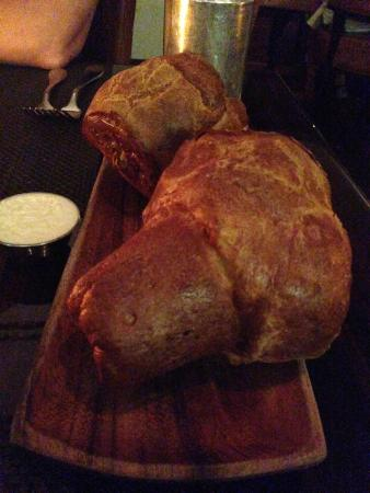 BLT Steak: The infamous Gruyere Popovers are incredible