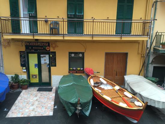 Hotel Marina Piccola : 방에서 본 창밖풍경