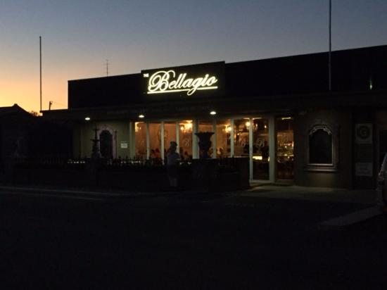 Kadina, Australia: Leaving after a very excellent meal.
