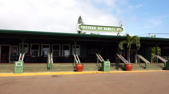 Coffees of Hawaii Plantation Store: Entrance