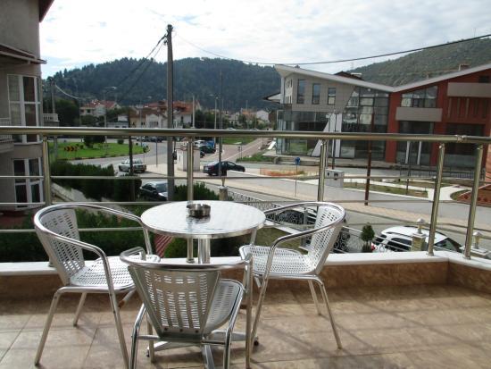 Kyknos De Luxe Suites Hotel: View