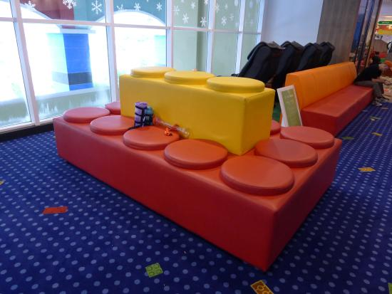 Even the vase is made of lego bricks picture of for Sofa bed johor bahru