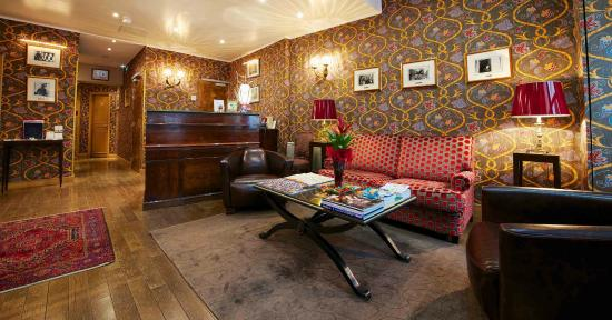 Relais Hotel du Vieux Paris: Réception
