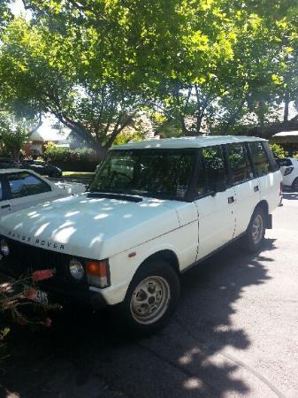 Middle Park, Australia: 90 degree parking