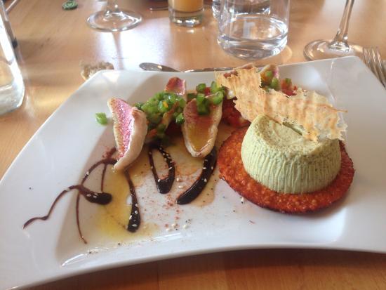 Oréade Restaurant et Balnéo : Plat poisson