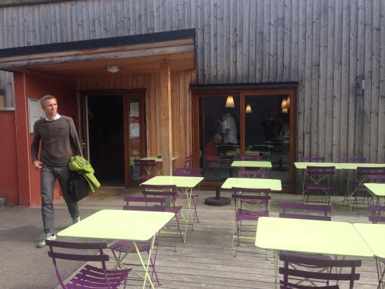 Oréade Restaurant et Balnéo : Terrasse