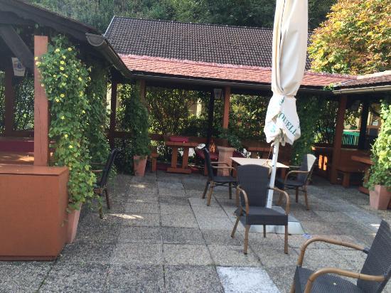 Kirchschlag, Austria: Courtyard