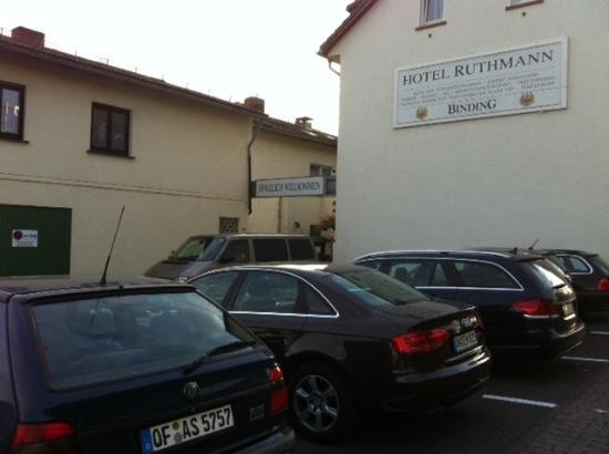 "Ruthmann Hotel: ""Hoteleingang"""