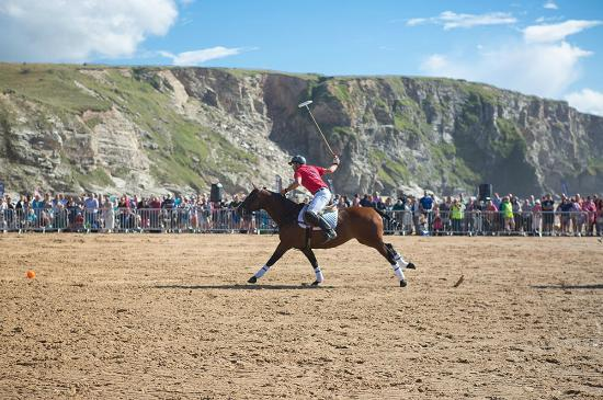 Watergate Bay - Polo on the Beach