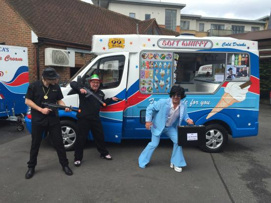 51340ad8c0 Ice cream van and trailer - Picture of Henley Piazza