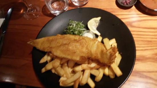 Inverkip Hotel : Fish&chips