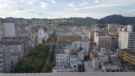 Kobe Luminous Hotel: View from the hotel room