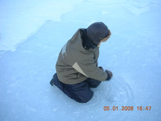 Lake Seliger, Russia: Юный рыбак