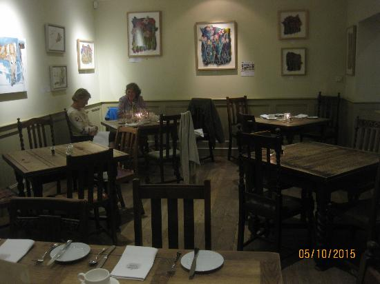 Charlton Horethorne, UK: Dining Area