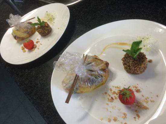 Escalope de foie gras picture of comptoir de famille for Comptoir de famille decoration