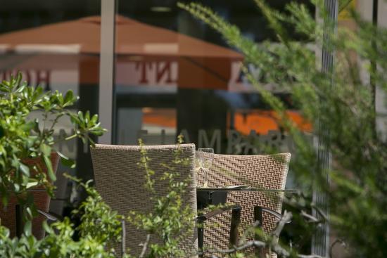 BEST WESTERN Hotel des Thermes : terrasse restaurant