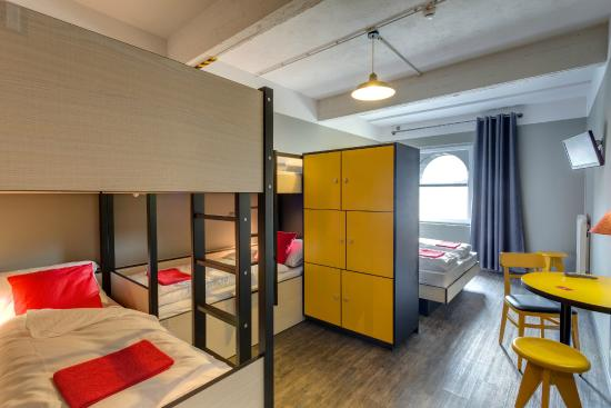 Cool Meininger Hotel Brussels City Center 6 Bed Room Picture Of Interior Design Ideas Gentotryabchikinfo