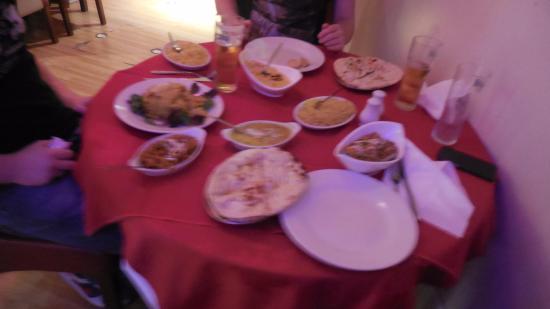 Lal Qila Indian Restaurant: Main course