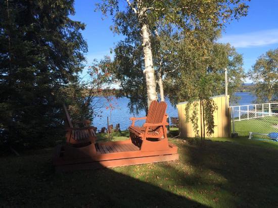 Lac-Megantic, Canada: Vue de la chambre