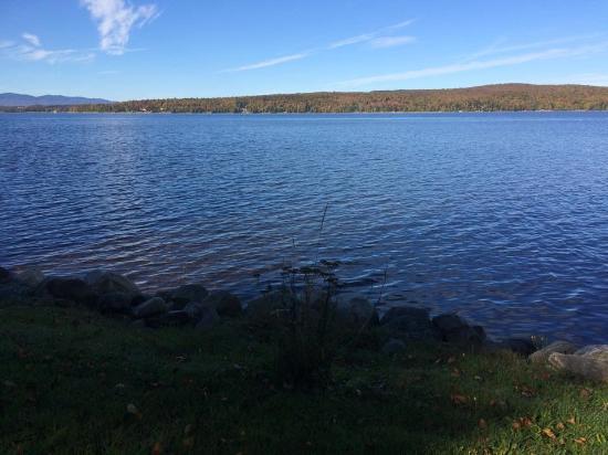 Lac-Megantic, Canada: Vue sur le Lac