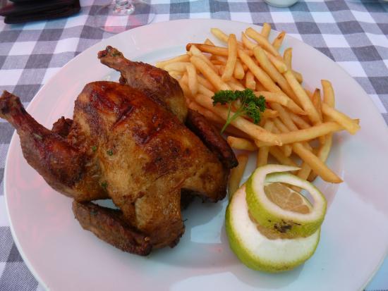 The Fez at Baghdad: Casablanca baby chicken