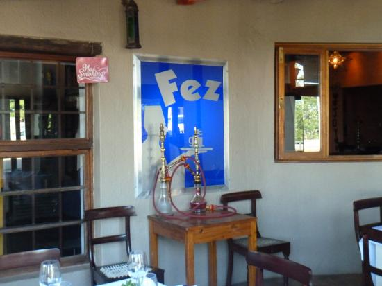 The Fez at Baghdad: Inside seating area