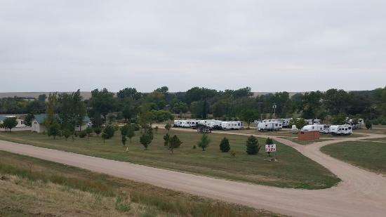 ‪‪Chappell‬, ‪Nebraska‬: View of RV Park from above.‬