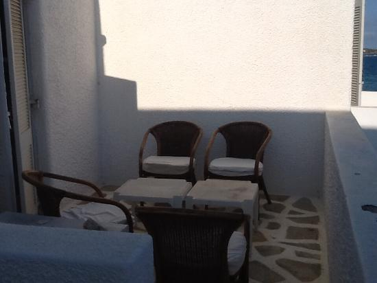 Pounta, Hellas: Balcon