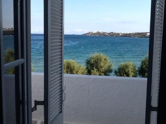 Pounta, Hellas: Vue de la chambre