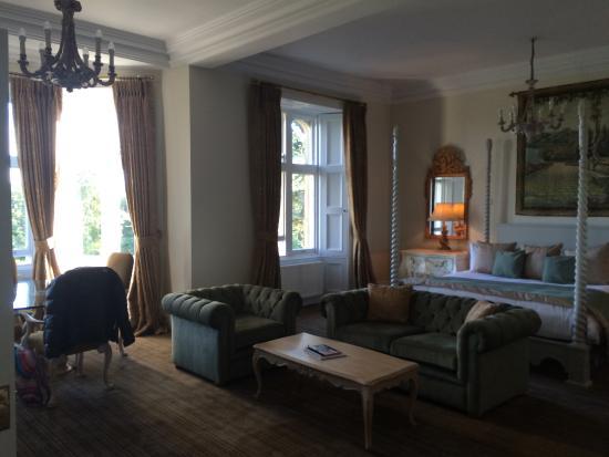 Fawsley Hall Hotel & Spa: The Sleeping Half of Our Room