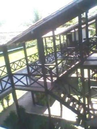 Hotel Ilha do Marajo: Estruturas de madeira dão charme ao local