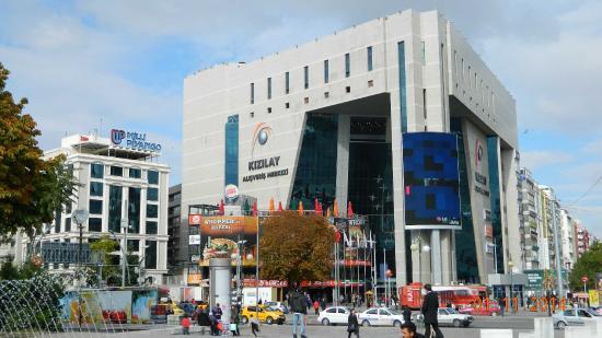 площадь - Picture of Kizilay Square, Ankara - TripAdvisor
