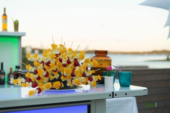 Langesund, Noruega: Sommerfest på sjøterrassen