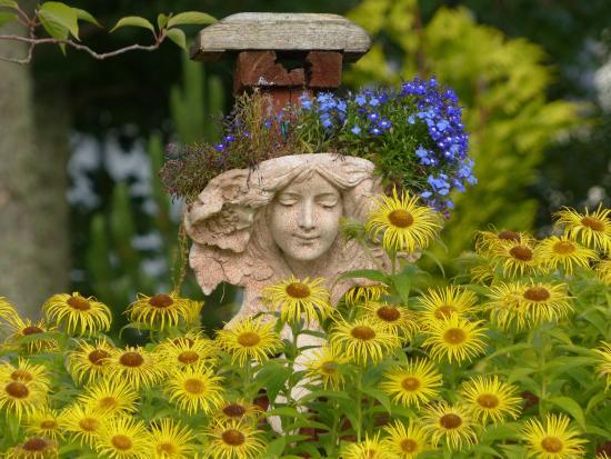 Brooklynn Guest House: Beautiful garden in the back