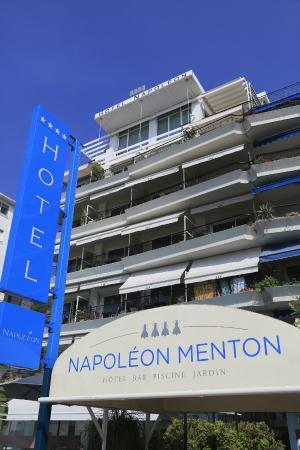 Hotel napoleon menton frankrig hotel anmeldelser - Hotels in menton with swimming pool ...