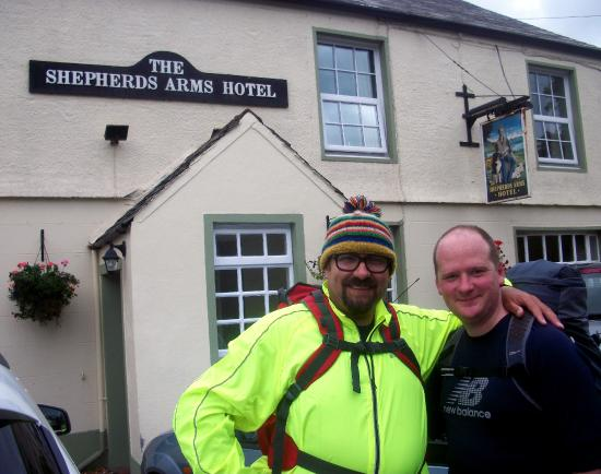 The Shepherds Arms Hotel: Sherpa Shezza & Batman - Sherpards Arms Hotel Ennerdale