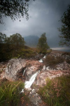 Wester Lix Cottages: Glencoe Waterfall