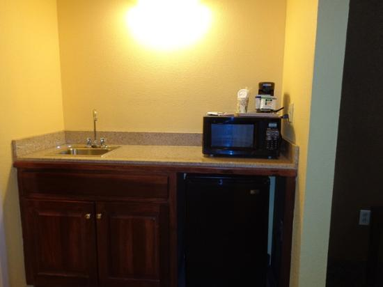 Holiday Inn Express Milton: micro and fridge